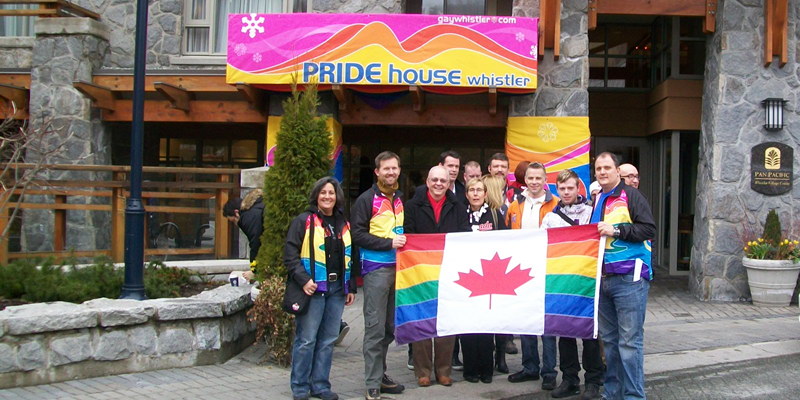 Organise a Pride House